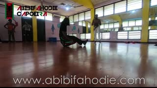 Asako (Afrikan Combat Capoeira) End of Class Light Sparring 16-3-2019