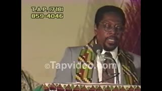 Dr  Amos Wilson Blueprint For Black Power