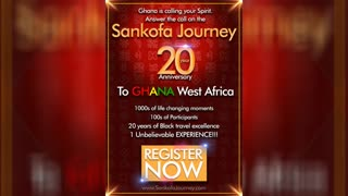 See REAL Afrikan Greatness EXCLUSIVELY on the Sankɔfa Journey!