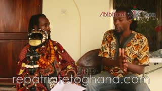 Dr. Kambon's inspiring RepatriatetoGhana.com interview with Native Borne