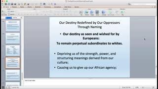 Abibitumi Presents: Dr. Ama Mazama - Afrikan Names as First Act of Agency